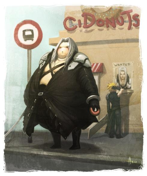 Fat_Finatasy___Sephiroth_by_nJoo