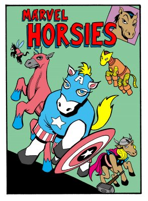 marvelhorsies