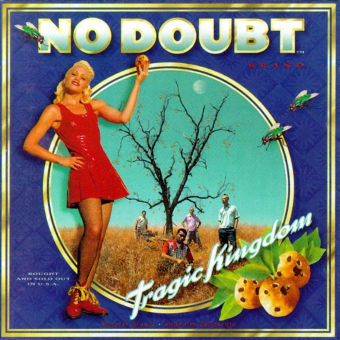 Cover de Tragic kingdom.